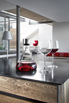 Blomus DELTA Decanter Carafe. Could see this being used on The Bachelor, so romantic and stylish. Want a rose of your own? http://blomus.com.au/product/pure-taste/delta-decanter-carafe/