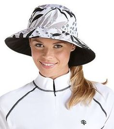 Women's sun protection swim hats all UPF50+ for a happy sunny living!                    REVERSABL!