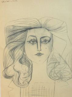 françoise gilot | Francoise Gilot Picasso - how can one woman look like us both?