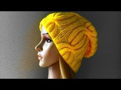 How To Knit A Ribbed Cable Hat, Lilu's Handmade Corner Video # 25 - YouTube