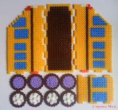 Marina Kaizer uploaded this image to 'kopilka'. See the album on Photobucket. Perler Beads Pegboard, Pixel Beads, 3d Perler Bead, Diy Perler Beads, Fuse Beads, Pearler Beads, Hama Beads Patterns, Beading Patterns, Melting Beads