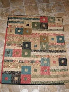 Great Jelly Roll quilt (I think)