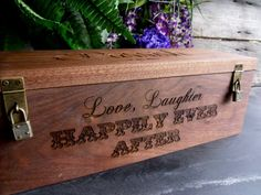 Hey, I found this really awesome Etsy listing at https://www.etsy.com/listing/167122015/wine-box-for-wedding-wine-box-ceremony