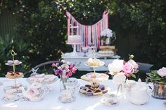 high tea baby shower - Google Search