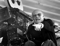 El director italiano Francesco Rosi. Italian film director Francesco Rosi.