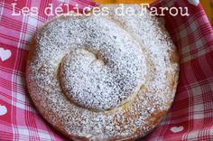 ensaimadas ( brioche espagnole ) Le Boudin, Yeast Bread, Doughnut, Tea Time, Easy Meals, Baking, Breakfast, Beignets, Biscuits