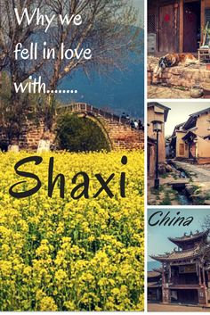 Find out why we loved Shaxi so much and why you need to visit! A place not to miss if you are in #china. #yunnan #shaxi #beautifuldestinations #travel