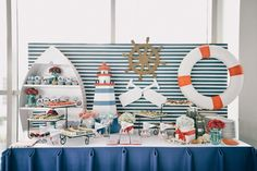 Basti's Nautical Themed Party – Sweets