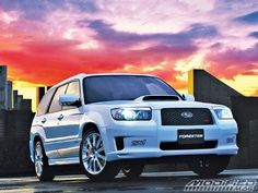 Building Your Own Subaru Forester STI - Modified Magazine
