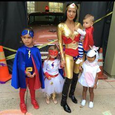 Kourtney Kardashian's Superhero Squad