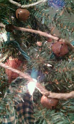 $6.99 Jingle bell garland. https://www.etsy.com/listing/113398637/rusty-jingle-bell-garland-6-foot
