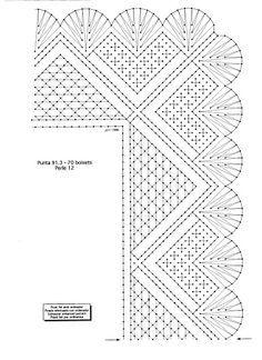 Bolillos: Como hacer el punto de filigrana Las Labores y Manualidades de Caterine: Bolillos: Como hacer el punto de filigrana Bobbin Lace Patterns, Weaving Patterns, Crochet Patterns, Crochet Chart, Crochet Lace, Bobbin Lacemaking, Chicken Scratch, Lace Heart, Lace Jewelry