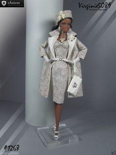 Tenue Outfit Accessoires Pour Fashion Royalty Barbie Silkstone Vintage 1268   eBay