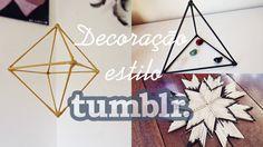 D.I.Y. Decoração estilo TUMBLR | Room Decor TUMBLR