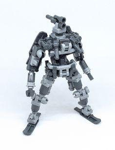 https://flic.kr/p/JwzgGc | LEGO Robot Soldier | Lego Mech !! More…