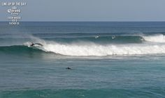 Coastalwatch :: Reference :: Features :: LINE-UP OF THE DAY: April 28, 2013