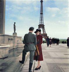 Wehrmacht in Paris May World War 2 Eiffel Tower History, D Day Beach, Ww2 Photos, Culture War, Story Of The World, War Photography, The Third Reich, World War One, German Army