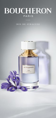 La collection Boucheron, Iris de Syracuse. A Collection inspired by the memories of the Boucheron gem hunters. A vibrant, elegant floral iris. #Boucheron #BoucheronFragrance #LaCollectionBoucheron #IrisDeSyracuse #EauDeParfum #beauty #fragrance #fragrances #scent #perfume #UnisexFragrance #FloralFragrance #FruityFragrance #WoodyFragrance #parfum #parfums #parfumerie