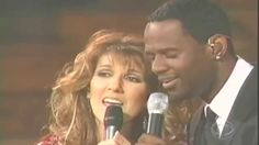 Celine Dion ft Brian McKnight ~ The Beauty And The Beast ~ Live 2002 CBS...