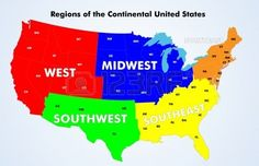 Regions of the United States - Newell Elementary School Teacher Page, Continental Divide, Political Science, New Pictures, Social Studies, Elementary Schools, Homeschool, United States, The Unit