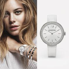 Brighten up every day with crystal-embellished timepieces such as the Swarovski Daytime watch #Swarovski - Shop now for swarovski > http://ift.tt/1Ja6lvu