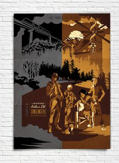 The Dark Tower  Gunslingers  Poster by bensmind on Etsy, $19.99