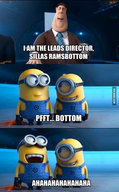 I'm pretty sure minions are the best things ever and I want some.