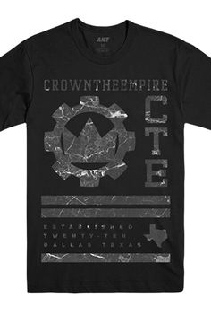 Crown The Empire - Official Merch Store - Sections Tee (Black)