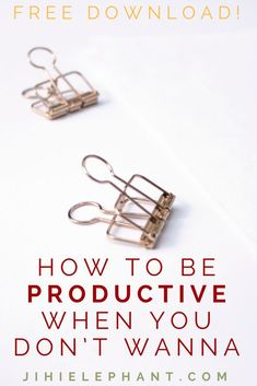 Being productive when you do not want to be is one of the hardest obstacles to overcome. Finding the motivation to complete the tasks you need to might ultimately come down to one thing: taking care of yourself. A lack of motivation might also be a lack of interest. This article will give you everything you need to be productive when you do not want to be.