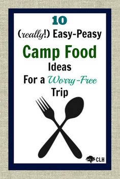 10 Easy Camp Food Id