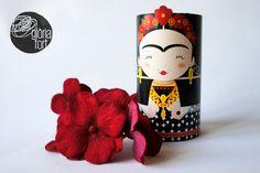 Printable Toilet Paper Roll Frida Kahlo
