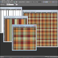 Plaid Tiles Tutorial for Paint Shop Pro Disney Stencils, Corel Paint, Paint Shop, Psp, Serif, Photoshop Tutorial, Hobbies And Crafts, Digital Scrapbooking, Tiles