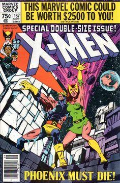 X-Men 137, cover