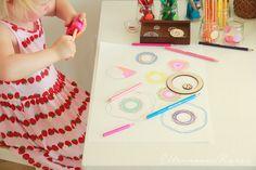 Eltern vom Mars: Einige Kunstmaterialien für meine Tochter (4 Jahre alt)