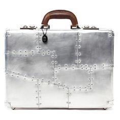 Timothy Oulton: Raleigh Aluminum Briefcase