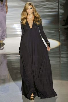 Gucci Spring 2009 Ready-to-Wear Fashion Show - Maryna Linchuk