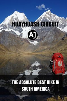 Probably, the best hiking route in South America. A treking expedition to the remote Cordillera Huayhuash. A challenging and rewarding hike for the serious hikers. Best Hiking Gear, Camping And Hiking, Family Camping, Camping Tips, Tent Camping, South America Destinations, South America Travel, Travel Destinations, Hiking Spots
