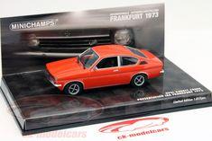 CK-Modelcars - 436045620: Opel Kadett Coupe IAA Frankfurt 1973 красный 1:43 Minichamps, EAN 4012138117198