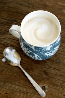 Combine coffee, coconut milk and chocolate syrup to make this Coconut Cowboy Coffee from lovely food blog Kumquat. Pour over ice and it's to die for!