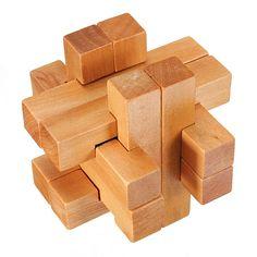 puzzle madera bola escondida
