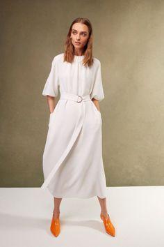 Sleek white minimalist