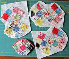 Feedsack Meets Suzuko Koseki Fabric = by elnorac, via Flickr <--- I love all of her stuff - she does beautiful work!