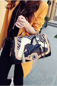 Horse Pattern Handbag Shoulder Bag