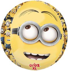 PartyBell.com - #Minions Despicable Me - Minion Jumbo Foil #Balloon