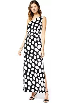 TRUTH & FABLE Women's Maxi Off-Shoulder Dress