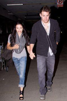 Jenna Dewan-Tatum Photo - Channing Tatum and Jenna Dewan at LAX