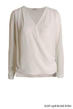 Slop 1978 Bluse Ecru von KD Klaus Dilkrath #kdklausdilkrath #slop #blouse #ecru # shirt #party #fashion #outfit #top #kdklausdilkrath #kd #dilkrath #kd12 #outfit