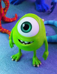Discovered by Horibelekete. Find images and videos about cute, green and disney on We Heart It - the app to get lost in what you love. Cute Disney Characters, Disney Films, Disney Cartoons, Disney Art, Disney Pixar, Cartoon Wallpaper Iphone, Disney Phone Wallpaper, Cute Cartoon Wallpapers, Monsters Inc