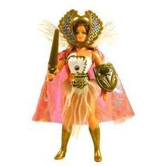 She-Ra, Princess of Power! Sooo lame, but I used to have this same doll.