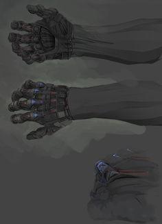 Detailed Nano-suit gloves, Jesper Andersen on ArtStation at http://www.artstation.com/artwork/detailed-nano-suit-gloves